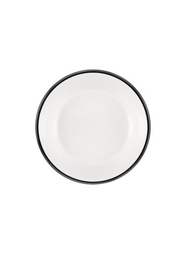 The Mia Halos Yemek Seti 18 Parça Siyah Siyah